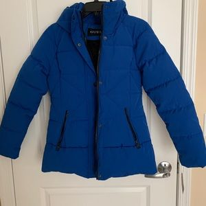 Brand NEW Guess Coat with Hood